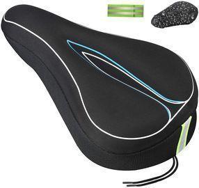 Gel Soft Pad Memory Foam Bicycle Saddle Cover