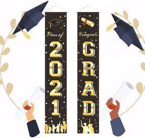 Graduation Porch Sign Banner 2021