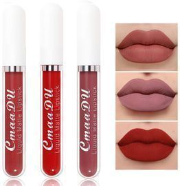 Matte Lipstick Lip Gloss - 3 Colors