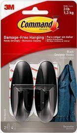Command Medium Damage-Free Hooks by 3M