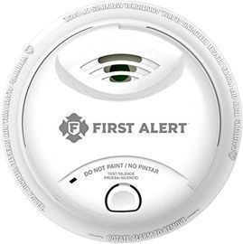 First Alert Ionization Smoke Alarm w/ 10-Year Sealed Tamper-Proof Battery