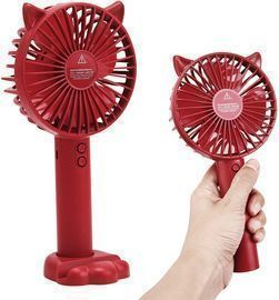 Portable Fan with Removable Base and Cellphone Holder