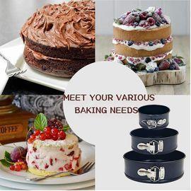 3pc Springform Cake Pan Set