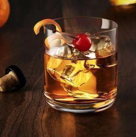Heffington 10 oz. Crystal Whiskey Glass, Set of 2
