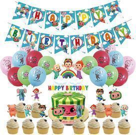 Cocomelon Birthday Party Supplies Kit