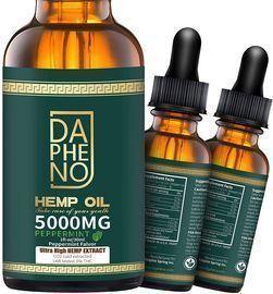 2 Pack- 10000mg Hemp Oil