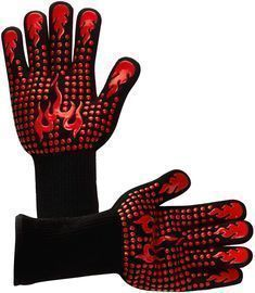 Extreme Heat Resistant BBQ Grill Gloves