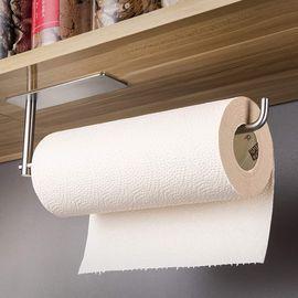Under Cabinet Self Adhesive Paper Towel Rack