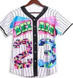 Bel Air Baseball Jersey