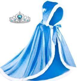 Fur Princess Hooded Cape