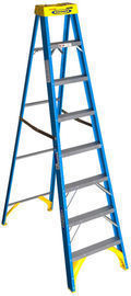 Werner 8ft. x 25 Fiberglass Step Ladder