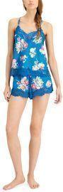 INC Lace-Trim Cami & Shorts Sleep Set