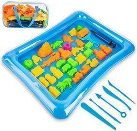 40pc Colorful Play Sand Kit