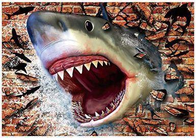 2000pc Shark Jigsaw Puzzle