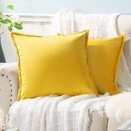 Velvet Pillow Covers Set