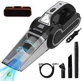 4-in-1 Car Vacuum Cleaner