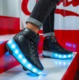 Kids LED Roller Skate Shoes