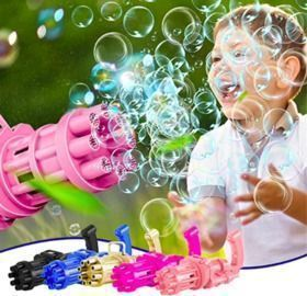 Electric Bubble Gun