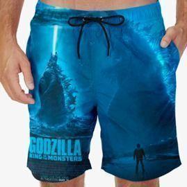 Godzilla Swim Trunks