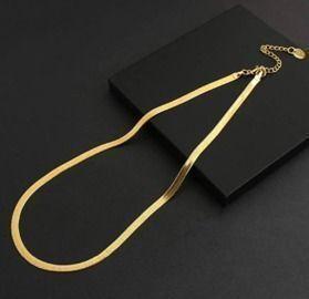 Chain Herringbone Necklaces Fashion Jewelry
