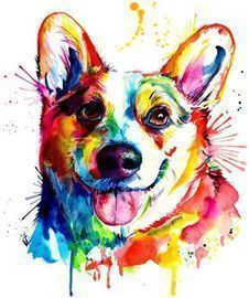 5D Dog Diamond Painting Kits