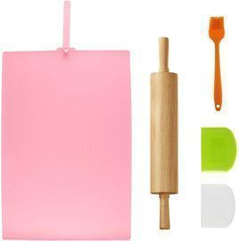 Rolling Pin and Pastry Mat Set