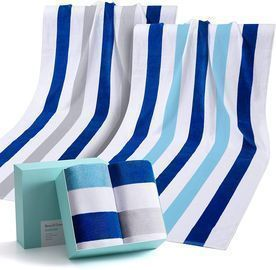 2 Pack Large Beach Towels