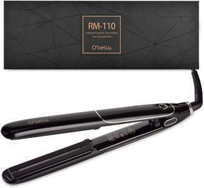Ceramic Tourmaline Flat Iron Hair Straightener
