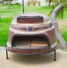 Ravenna Pottery Talavera 22 Wood-Burning Outdoor Pizza Oven