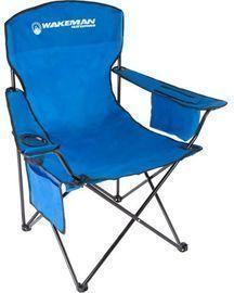 Wakeman Oversized Camp Chair, Blue