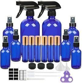 Glass Spray Bottle Kit