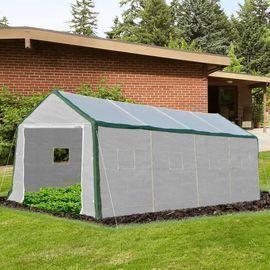 Outsunny Heavy-duty Walk-in Greenhouse (20'L x 10'W x 8'H)