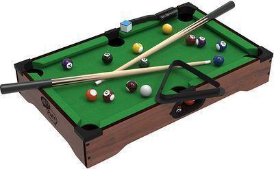 Mini Tabletop Pool Set Billiards Game