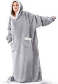 Bedsure Long Wearable Blanket