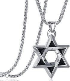 Star of David Cross Necklace