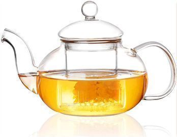 Glass Teapot with Removable Infuser tea Kettle