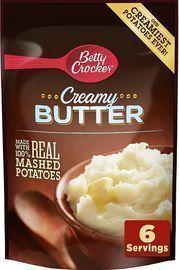 7pk of Betty Crocker Homestyle Creamy Butter Potatoes