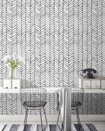 Modern Stripe Peel and Stick Wallpaper