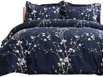 Spring Bloom Pattern Duvet Cover Set