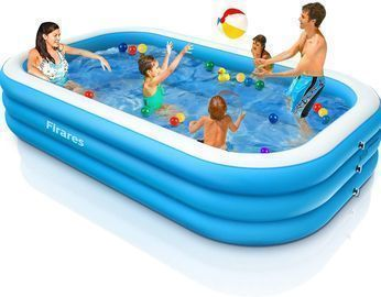 120x72x22 Inch Inflatable Swimming Pool