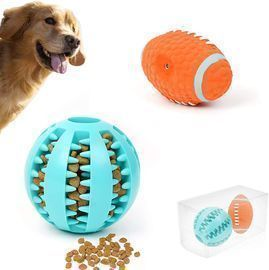 Puppy Treat Toy Dog Tooth Cleaning Ball