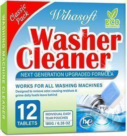 Upgraded Washing Machine Cleaner-12 Tabs