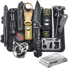12-in-1 Emergency Survival & Camping Kit