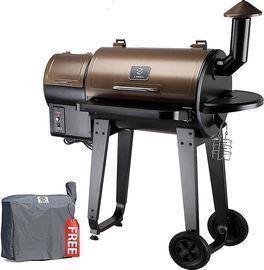 Z GRILLS Wood Pellet Grill & Smoker 6 in 1 BBQ Grill