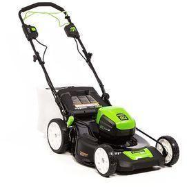 Greenworks 21 Pro 80-Volt Self Propelled Cordless Walk Behind Lawn Mower
