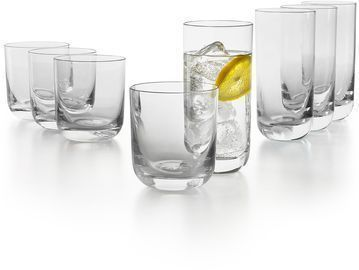 Hotel Collection Tumbler Glasses, Set of 8