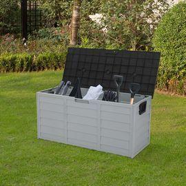 Rolling Outdoor 75-Gal. Lockable Storage Deck Box
