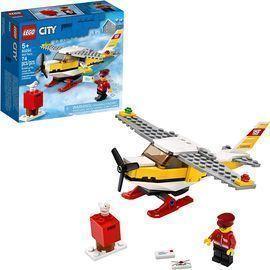 LEGO City Mail Plane Building Set (74 Pieces)