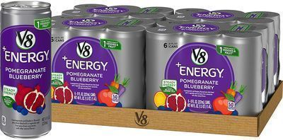24 Pack of V8 +Energy, Healthy Drink