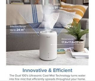 LEVOIT Air Humidifier, Essential Oil Diffuser
